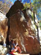 Rock Climbing Photo: At the start.