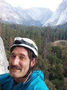 Rock Climbing Photo: Climbing bishops terrace