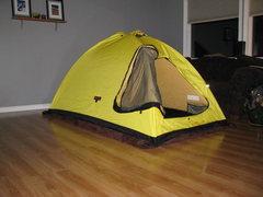 Rock Climbing Photo: I tent