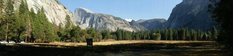 ahwanhee meadow panorama