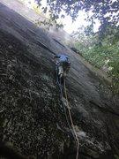 Rock Climbing Photo: Aaron Tellier on FA