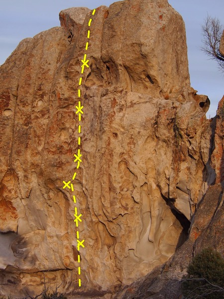 Rock Climbing Photo: Smoke Signal 12a
