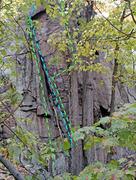 Rock Climbing Photo: Nechtanc sector : left end Y. Canterbury Climb Z. ...