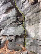 Rock Climbing Photo: The bottom of Radcliffe