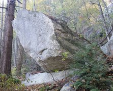 Rock Climbing Photo: Always thought this was a cool looking boulder. It...