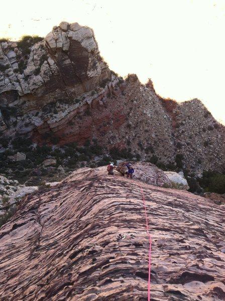 Climbing the RIB!!!!