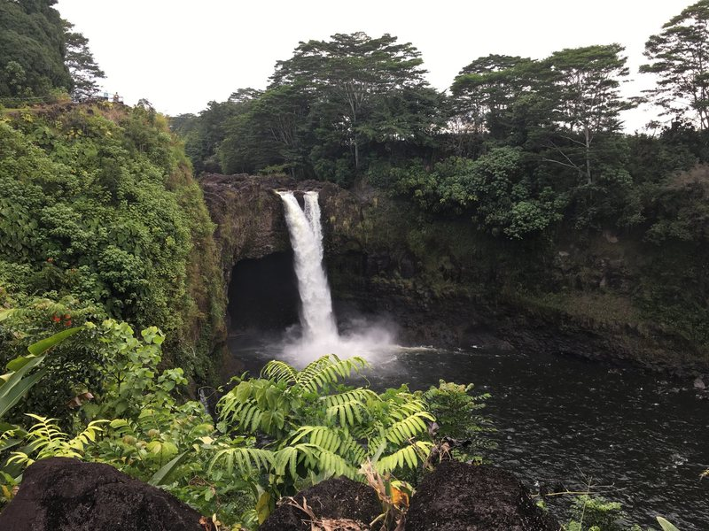 Waianunue. I spoke with some Hawaiians that have jumped from this waterfall when the river was just right.