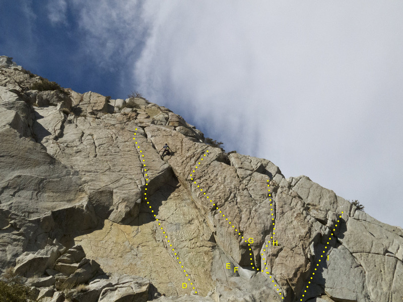 Rock Climbing Photo: The Pharaoh and Hieroglyphics