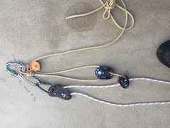 Rock Climbing Photo: I'll replace the petzl rescue(185g) with a min...