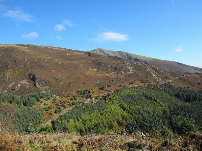 Skiddaw Mt from Dodd Hill