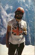 Rock Climbing Photo: First all British ascent Salathe Wall 1973  Hangin...