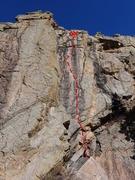 Rock Climbing Photo: Sin.