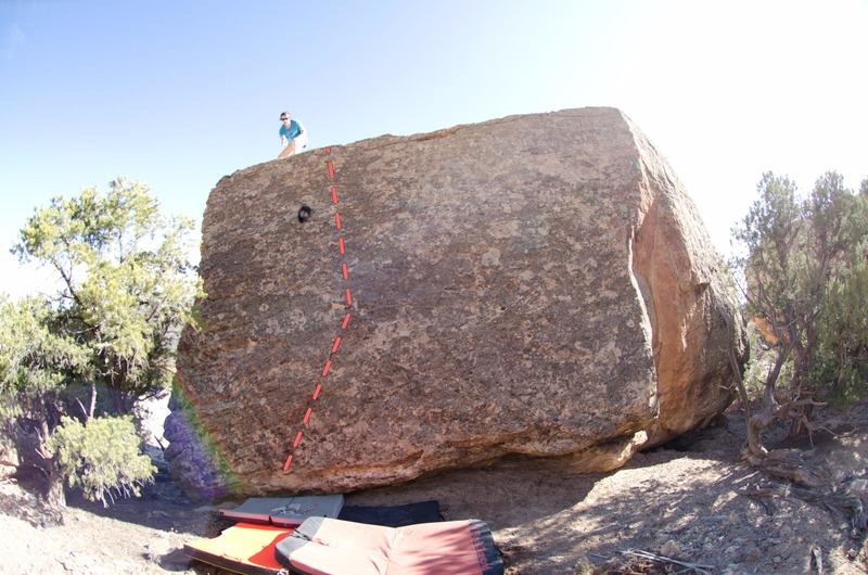 Rock Climbing Photo: Topper.