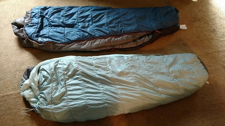 Rock Climbing Photo: EMS Boreal 20 Degree Sleeping Bags (2)