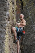 Rock Climbing Photo: Pat showing us his awesomeness on Morning After. P...