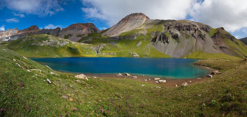 Ice Lake panorama.