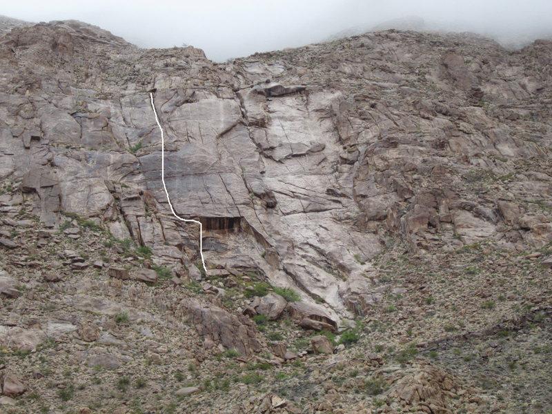 Rock Climbing Photo: Life on a Line.