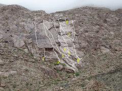 Rock Climbing Photo: 1) Life on a Line 2) Gracy Slick Roof 3) Cryin&#39...