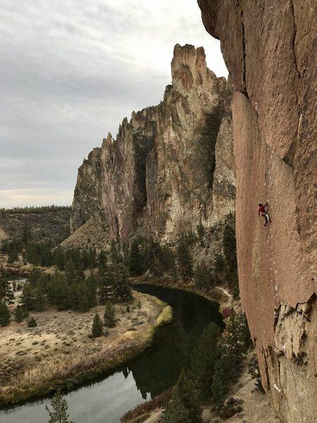 Rock Climbing Photo: Amazing climb