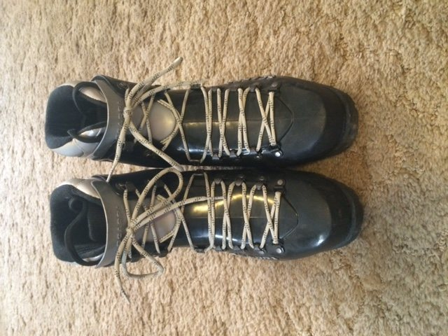Rock Climbing Photo: Scarpa Inverno double boot, Sz. 42 (9.0)