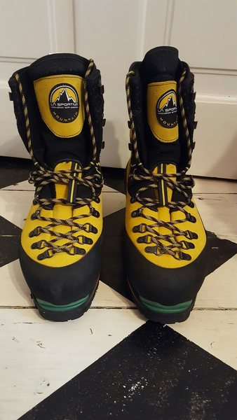 NEW never worn (except for around house to feel fit),..Sportiva Nepal Evo boots size 43  $400
