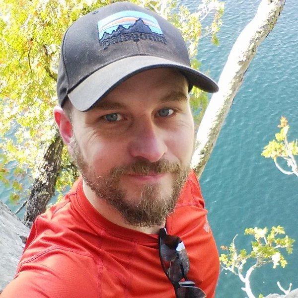 Selfie on Shovel Point, MN