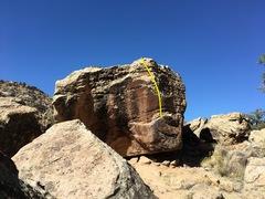 Rock Climbing Photo: Beta for The Beautiful, Fabulous, Dancing Queen.