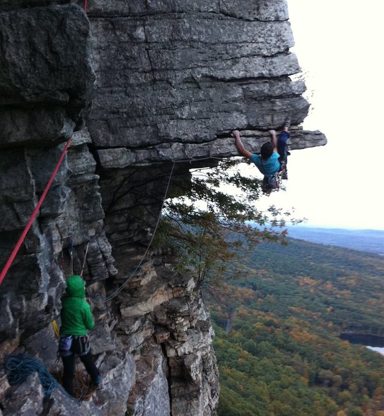 Dangler in the Gunks
