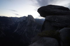 Rock Climbing Photo: Half Dome morning.