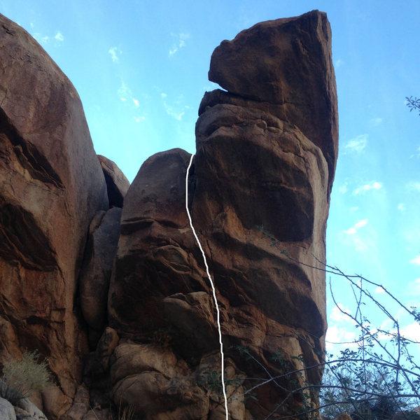 Rock Climbing Photo: Lamb Off.