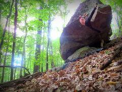 Rock Climbing Photo: Sundown Ledge Bouldering