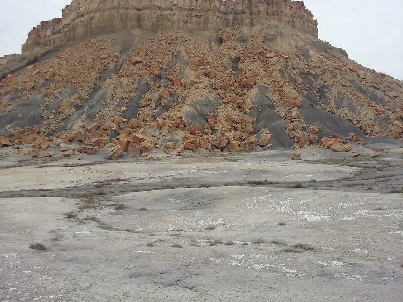 Rock Climbing Photo: The moon area