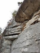 Rock Climbing Photo: Arch P2 standard finish.