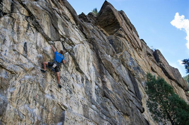 Rock Climbing Photo: Greg on Anatomic.