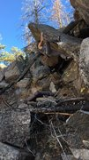 Rock Climbing Photo: Stolen Rib.