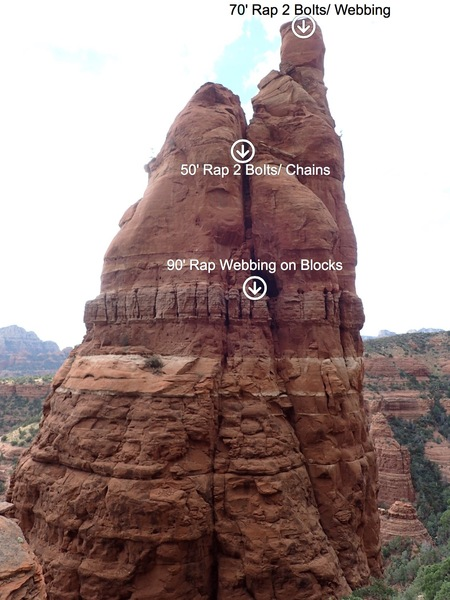 Rock Climbing Photo: Raps