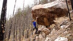 Rock Climbing Photo: Dangling around.  Photo: the Bruce.
