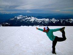 Rock Climbing Photo: Mt. Rainier