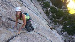 Rock Climbing Photo: Donner