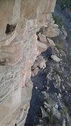 Rock Climbing Photo: The base.