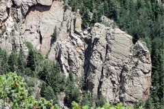 Rock Climbing Photo: This is where I think we were climbing.  It is har...