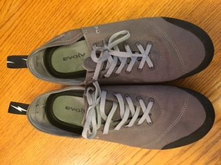 Evolv  Cruzer Approach Shoe-Slate, size 10.5  - $50. retails for $75