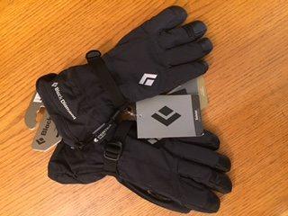 Black Diamond soloist gloves, brand new, medium, $50