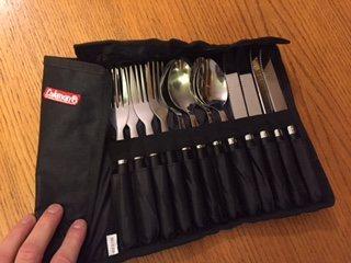 Rock Climbing Photo: Coleman utensil set, free if you buy something
