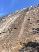 Rock Climbing Photo: You can see LSD just to the left