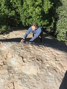 Rock Climbing Photo: Picture taken from above. Will onsight solos.