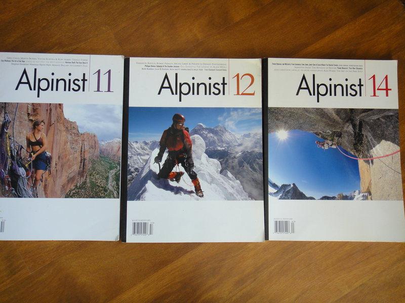 Alpinist 11,12,14