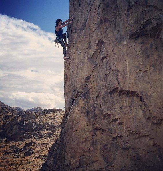 Rock Climbing Photo: Melody sending.