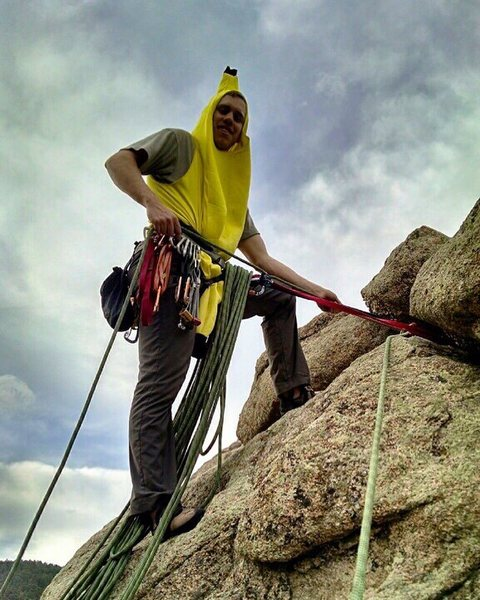 <br> So it sounded appealing to go trad climbing today so I grabbed a big bunch of cams and split. At the crag I tried not to monkey around too much with the gear but let&#39;s just say it was a slippery slope.