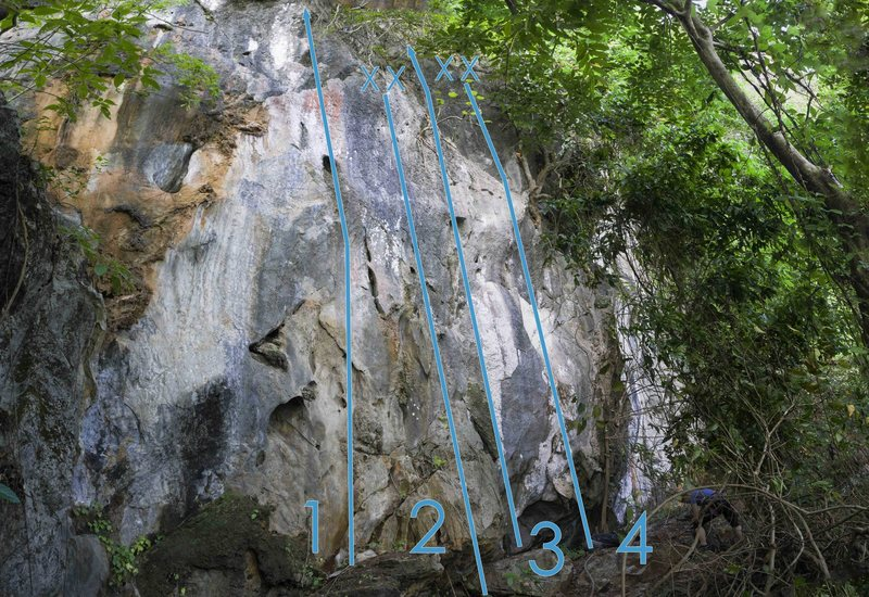 Rock Climbing Photo: 'Capitaine Buzz' is number 3 on the Alamo ...